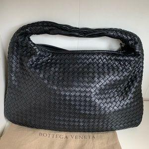 Bottega Veneta Large Nero Intrecciato bag